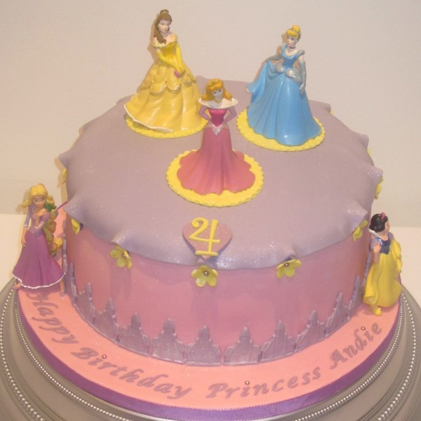 Easy Homemade Princess Castle Cake