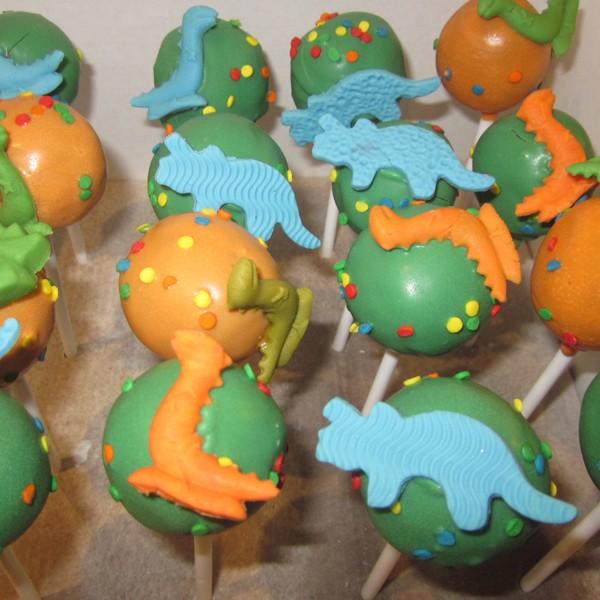 Easy Animal Print Cake Pops