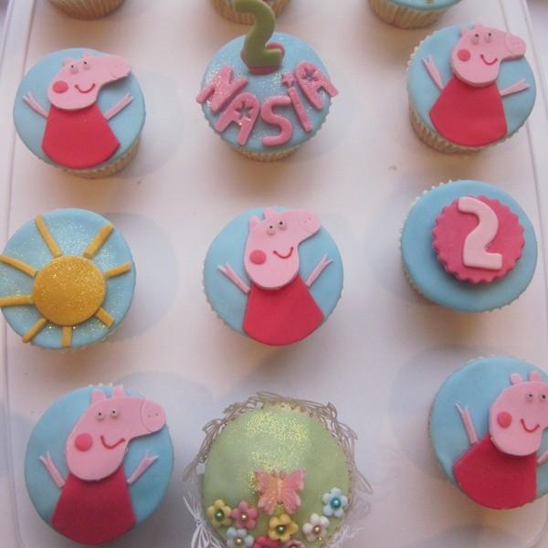 Peppa Pig Birthday Cake Ex Stock