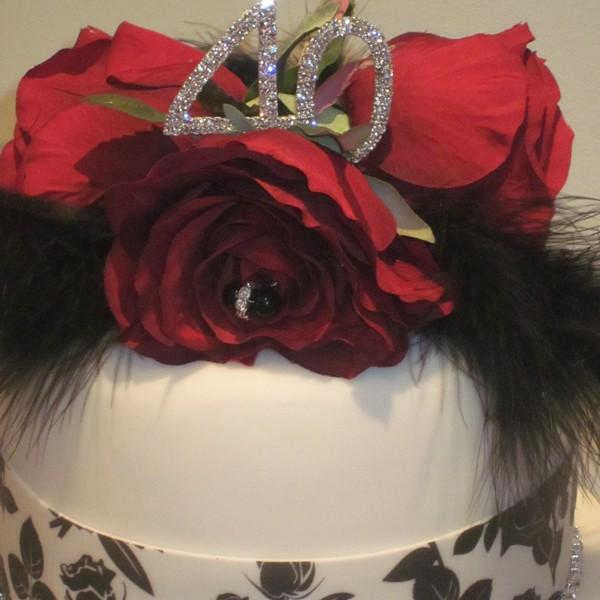 10 8 6 Inch Wedding Cake
