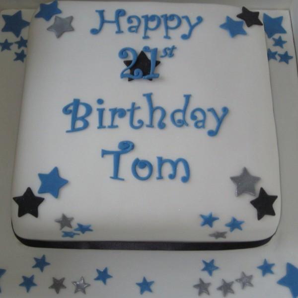 One Tier Boy S Birthday Cake Neo Cakes