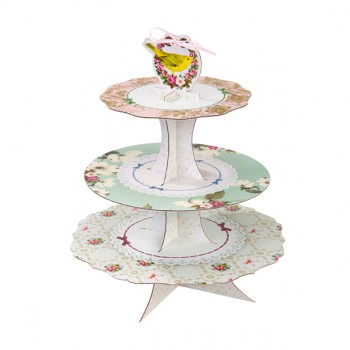 Frills and Frosting 3 Tier Cup Cake Stand