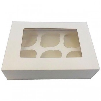 Cupcake Box (Holding up to 6 Cupcakes)