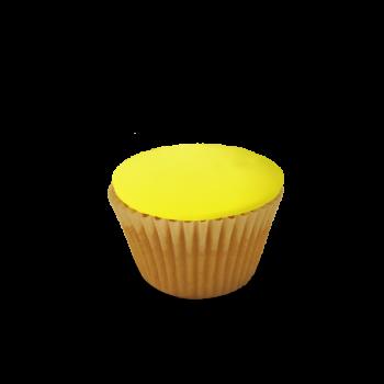 Fondant Iced Lemon & Coconut Cupcakes