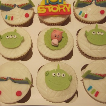 Disney Toy Story Themed Cupcakes