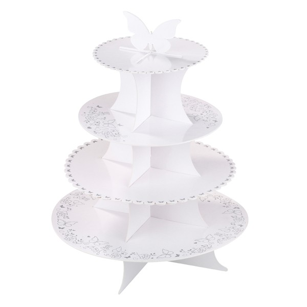 4 tier wedding cake stand uk wedding cupcakes 4 tier cake stand neo cakes 10414
